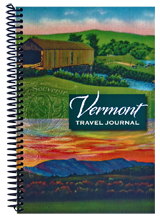 Vermont Travel Journal by Sandy Levesque
